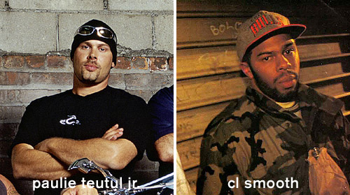 Paulie Jr. vs. CL Smooth